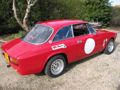 Classic Road and Race Cars for Sale. Alfa 2000 GTV Racer
