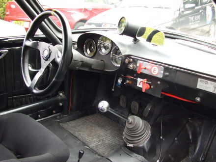 Classic Road and Race Cars for Sale. Alfa Giulietta Sprint Veloce dash