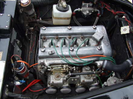 Classic Road and Race Cars for Sale. Alfa Giulietta Sprint Veloce engine