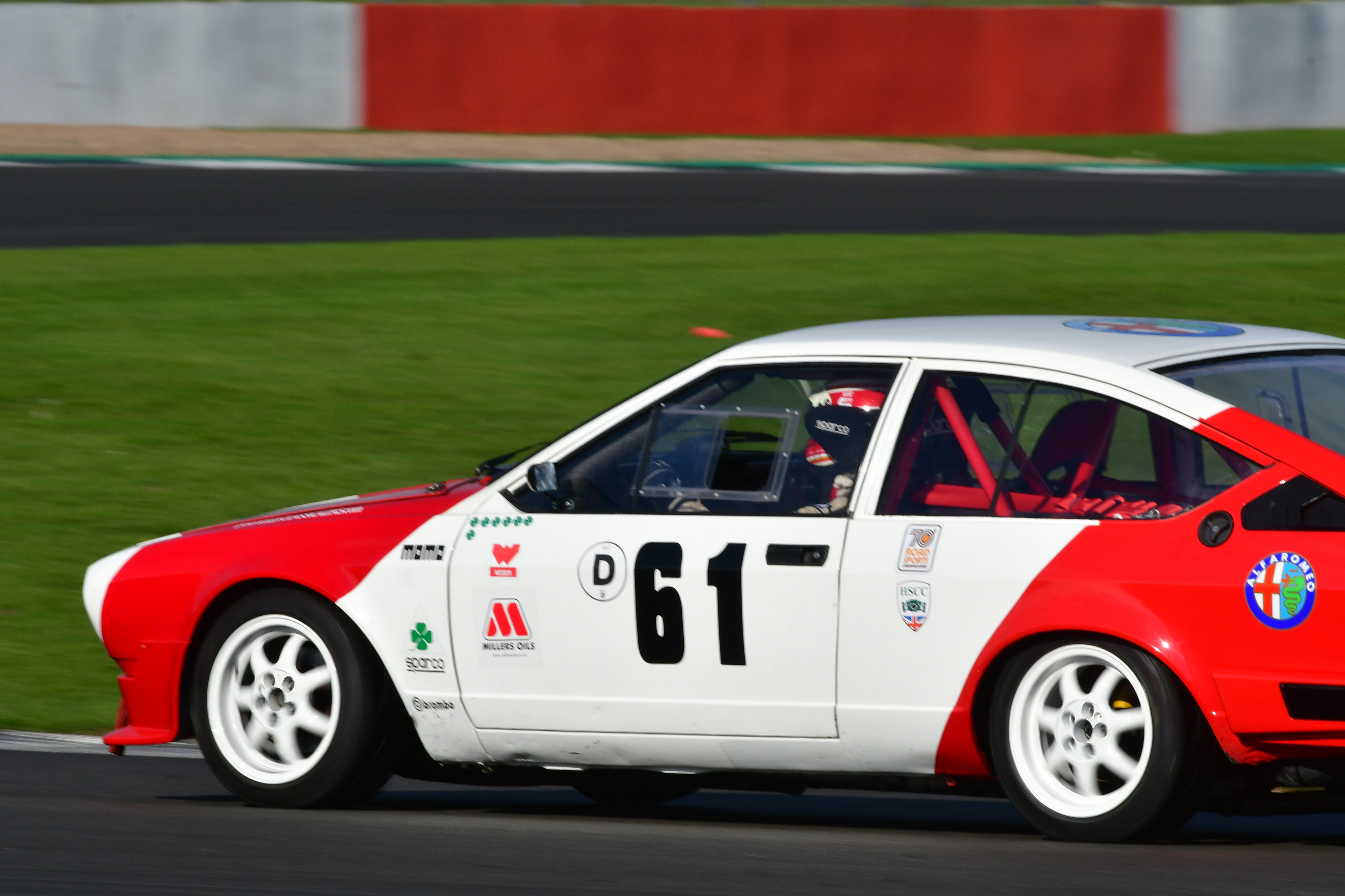 Race/Rally Preparation and Race Support. Alfetta race car side