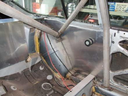 Gtv Rollcage on Alfa Romeo Gtv6 Engine Rebuild