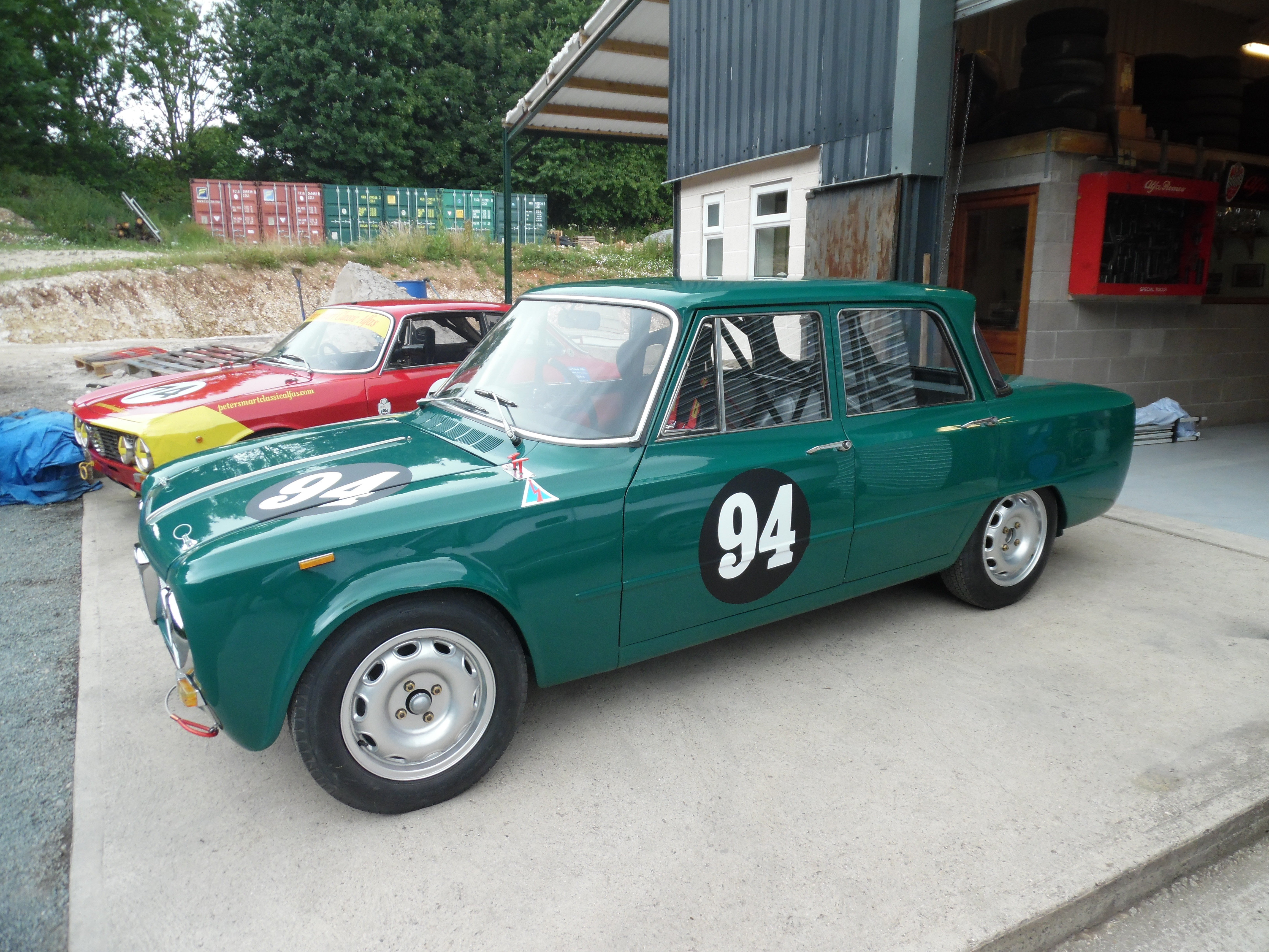 Latest News/Projects. Giulia Super race car