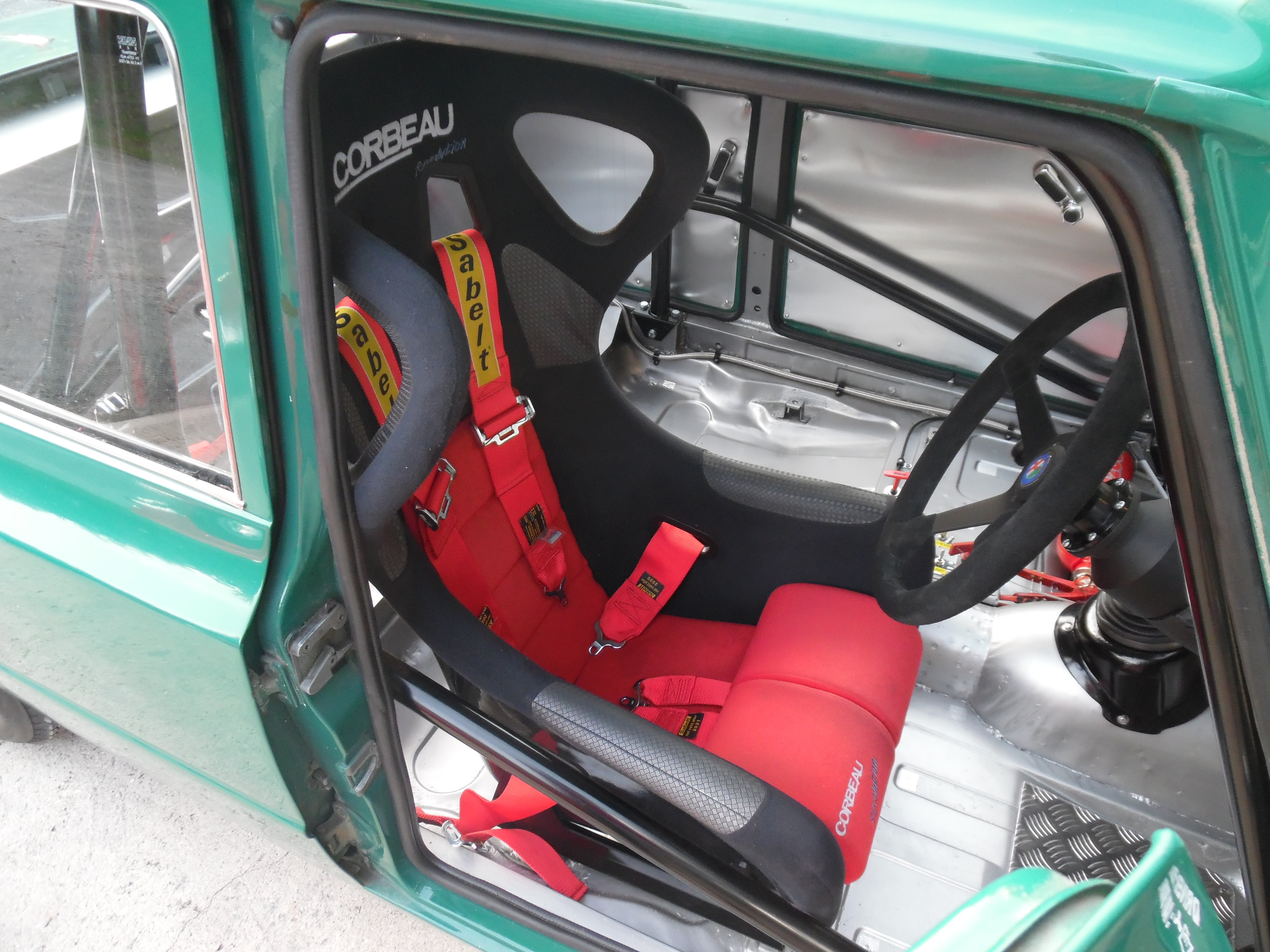 Latest News/Projects. Giulia Super race car interior