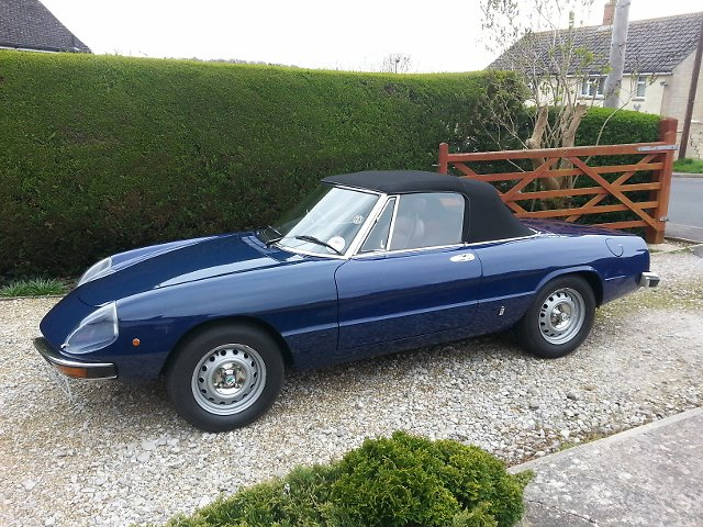 Classic Road and Race Cars for Sale. 2000 Spider STE888S side