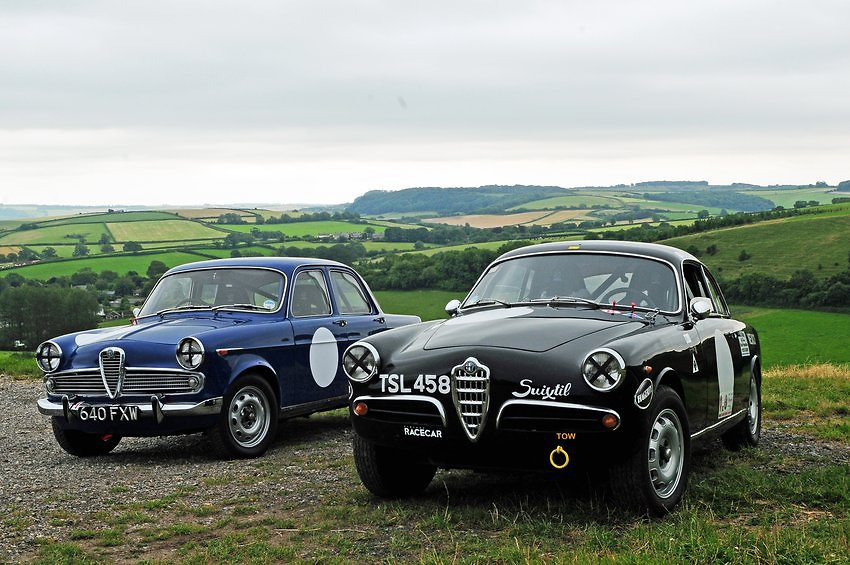 Alfa Romeo restoration and classic alfa sales by Thames Motor Company